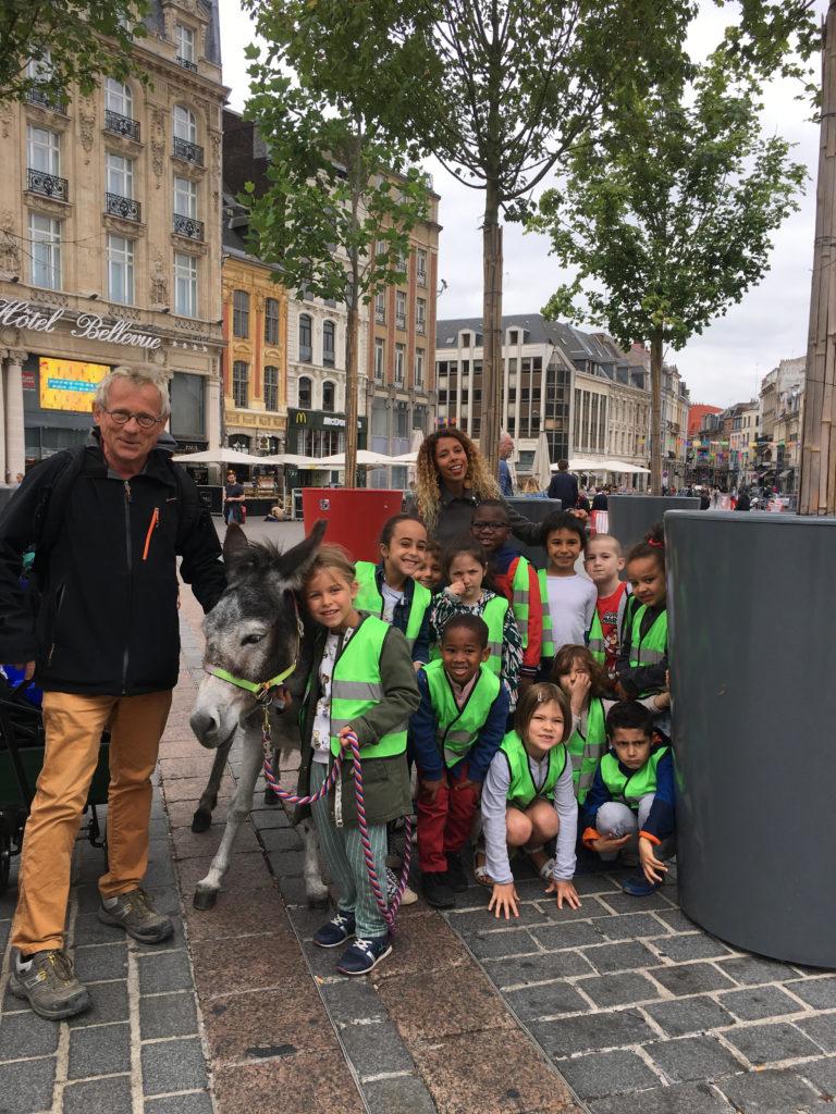 Animation Cadichon la nouvelle star de la Grand-place de Lille